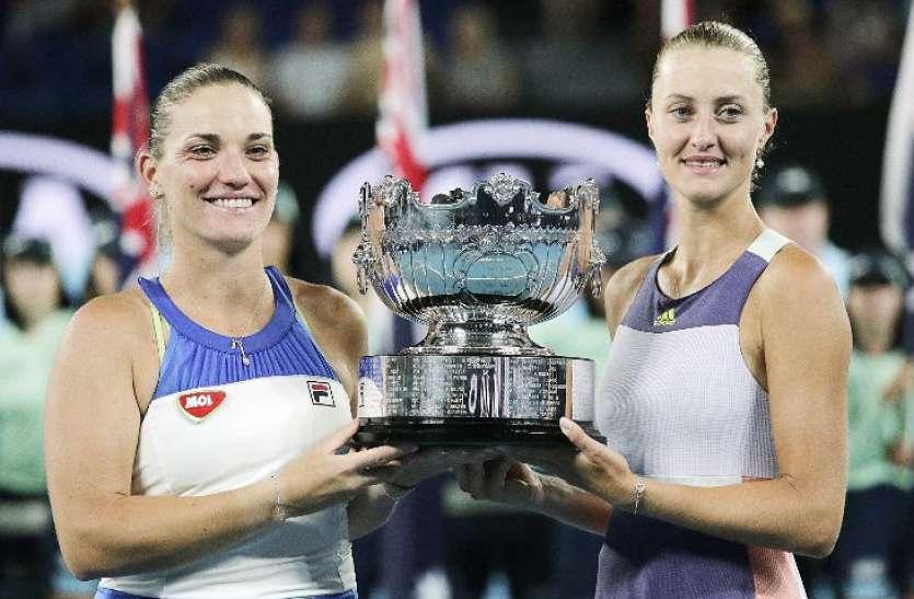 क्रिस्टिना-टिमिया की जोड़ी ने जीता ऑस्ट्रेलियन ओपन में वुमेंस डबल्स का खिताब