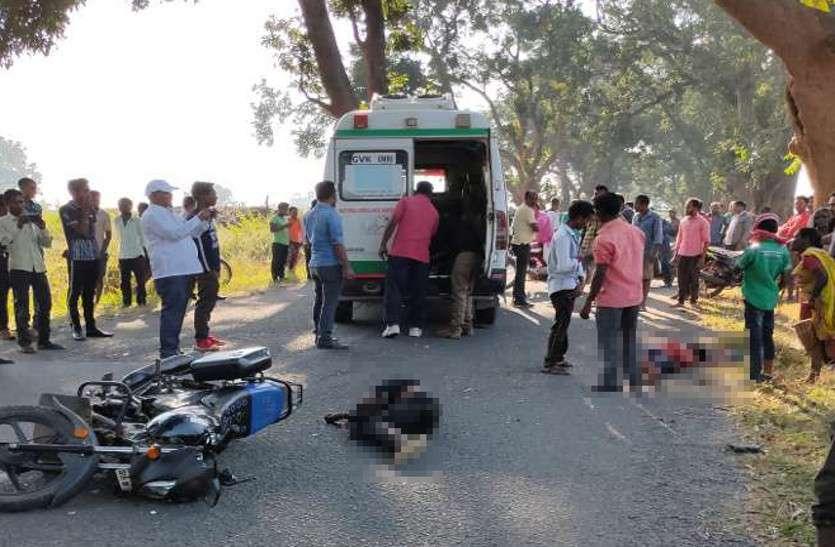 बाइक सवार दो दोस्तों के साथ हुआ दर्दनाक हादसा, एक की मौत, दूसरा गंभीर घायल