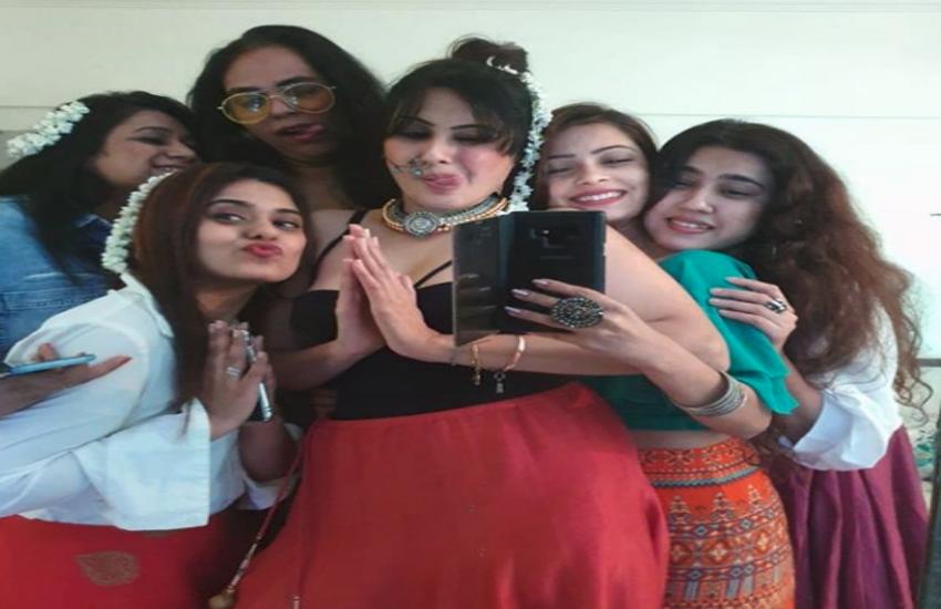 Kamya Punjabi bachelor Party