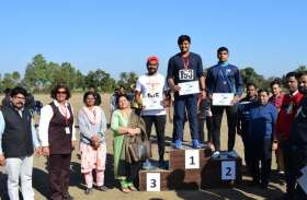 राज्य स्तरीय एथलेटिक्स प्रतियोगिता में रतलाम ने जीती चैम्पियनशिप, उज्जैन उपविजेता