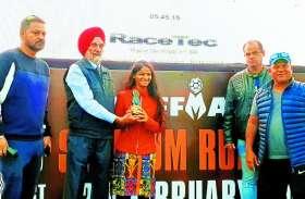 कोटा की दीपा ने बनाया कोर्स रिकॉर्ड, 11 घंटे 45 मिनट में दौड़ी 100 किलोमीटर