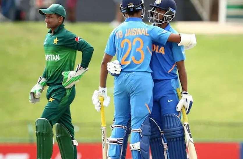 अंडर-19 वर्ल्ड कप के फाइनल में भारत, पाकिस्तान को 10 विकेट से रौंदा