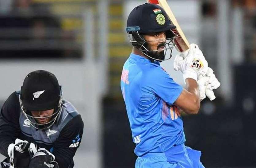 केएल राहुल ने धोनी को पछाड़ा, न्यूजीलैंड में बतौर विकेटकीपर सर्वोच्च स्कोर बना डाला
