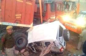 वीडियो : कुचेरा बाइपास पर दर्दनाक सड़क हादसा, दो मरे