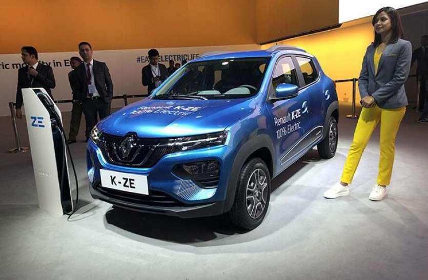 Auto Expo 2020 : इलेक्ट्रिक अवतार में तहलका मचाने आई Renault Kwid
