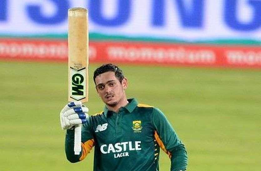 दक्षिण अफ्रीका ने पहले वनडे में इंग्लैंड को दी सात विकेट से मात, डिकॉक ने बनाया बड़ा रिकॉर्ड