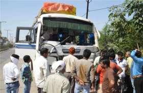 लहराते हुए चला रहा था बस, पुलिस ने रोककर जांच की तो निकला ये मामला, तुरंत 55 सवारियों को उतारा...