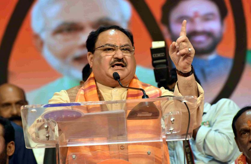 दिल्ली चुनाव: जेपी नड्डा ने केजरीवाल को घेरा, याद दिलाया झुग्गी वालों को मकान देने का वादा