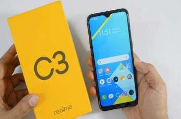 Realme C3 की आज भारत में पहली सेल, जानिए ऑफर्स व कीमत