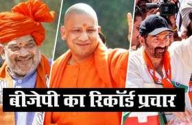 Delhi Election 2020 बीजेपी ने किया रिकॉर्डतोड़ प्रचार, पहले नंबर पर रहे जेपी नड्डा