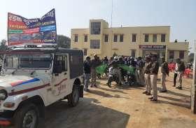 पुलिस ने बाइक रैली निकाल किया जागरूक