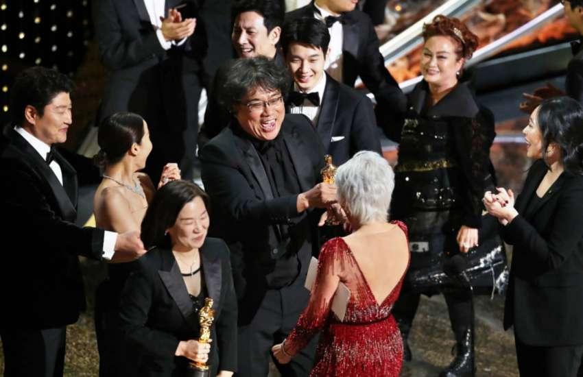Parasite Wins 4 Oscars and Makes Oscar History