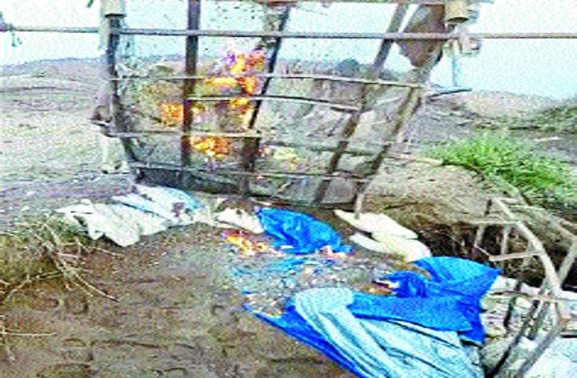 रेत माफिया ने पुलिस और खनिज विभाग के अमले को 25 किमी तक खदेड़ा
