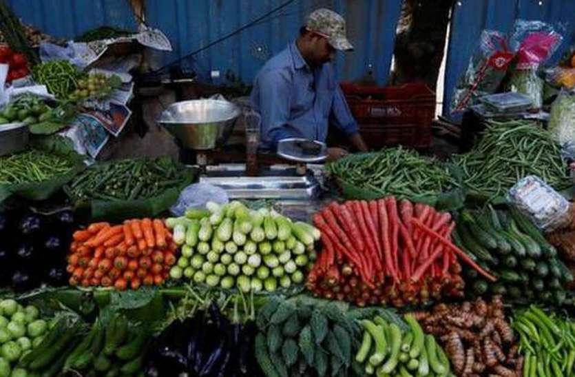 खाद्य पदार्थाें की कीमतों की वजह से 6 साल के उच्चतम स्तर पर पहुंची खुदरा महंगाई