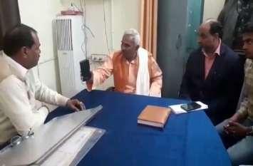UP:  भाजपा विधायक सुरेन्द्र सिंह का वीडियो वायरल, एसडीएम को दे रहे हैं धमकी