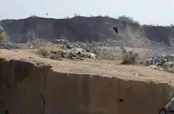 महर्षि वामदेव की तपोभूमि में कचड़े के ढेर में फेके जा रहे गायों के शव, नहीं हो रही कोई सुनवाई