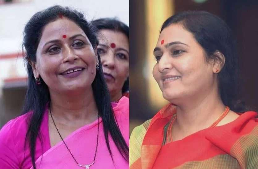 भाजपा नेता सुमन ने मालवीय नगर थाना घेरा, तो कांग्रेस नेता अर्चना ने कमिश्नरेट