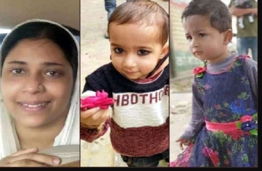 Amroha: बेटा-बेटी की हत्या के बाद मां ने लगा ली फांसी, दिल दहला देने वाली है कहानी