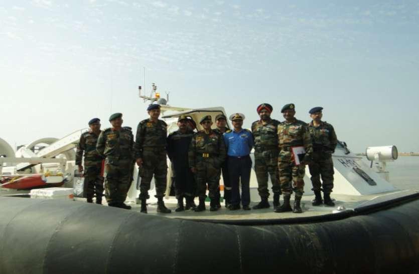 Gujarat: ट्रंप के दौरे से पहले सीमावर्ती कच्छ जिले में जमीनी व समुद्री सीमाओं की समीक्षा