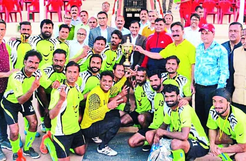 रेलवे मैदान पर तरुण का जल्वा, विजेता बन गया रतलाम