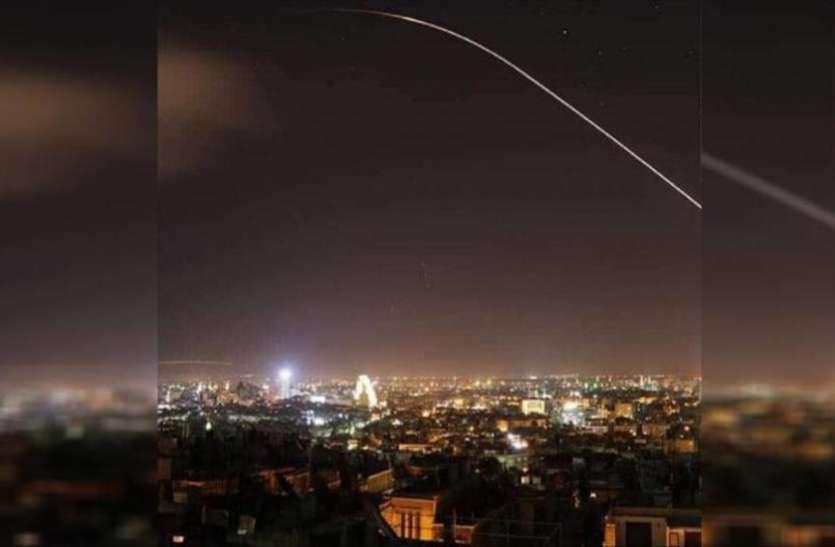इजरायली मिसाइल हमले को सीरिया ने किया नाकाम