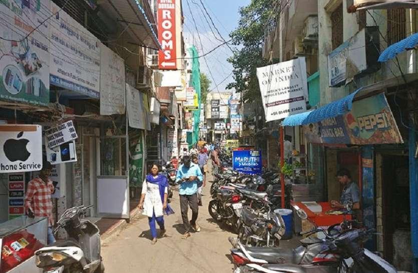 कोरोना वायरस का प्रकोप: रिची स्ट्रीट की रौनक फीकी