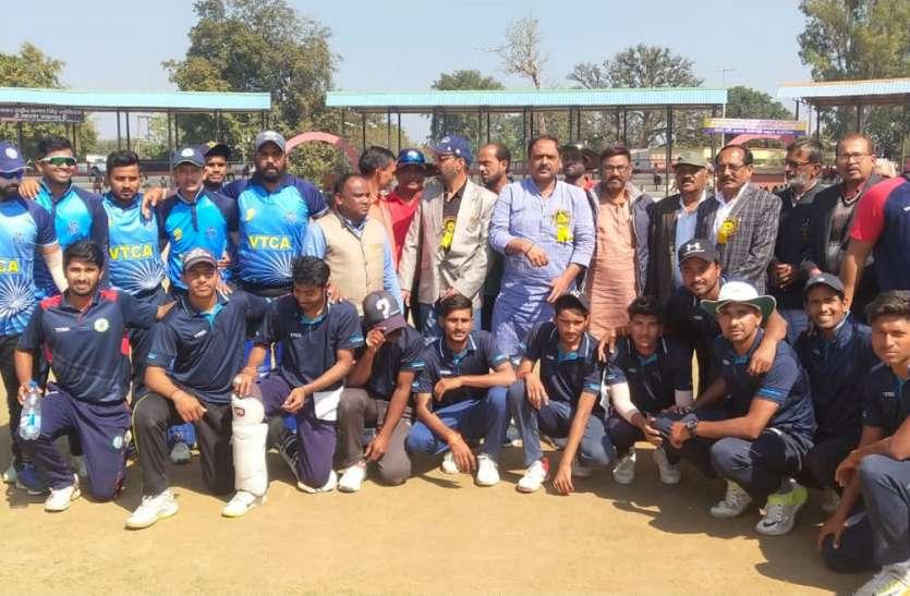 पहले मुकाबले में प्रयागराज ने नागपुर को हराया