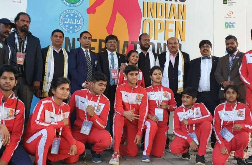 इंडियन ओपन अंतराष्ट्रीय किक बॉक्सिंग प्रतियोगिता: छत्तीसगढ़ के खिलाडिय़ों ने देश के लिए जीते 6 स्वर्ण समेत 21 पदक