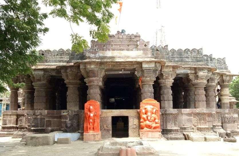 चकढ़ाणी में डेढ़ करोड़ की लागत से बन रहा गुरु जम्भेश्वर भगवान का मंदिर