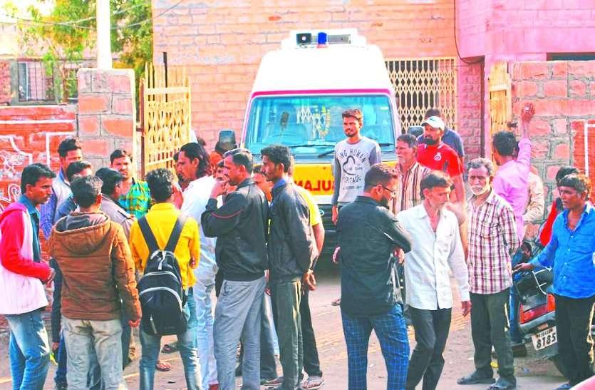 विवाहिता फंदे पर लटकी मिली, पीहर पक्ष ने लगाया हत्या का आरोप