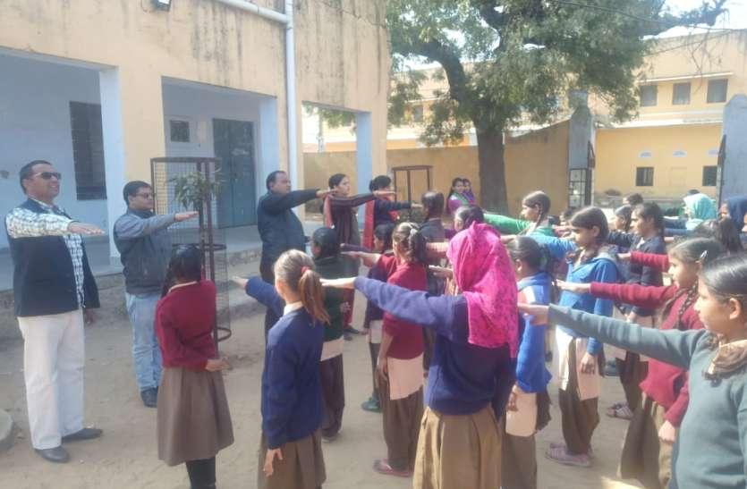 #swarnim bharat# स्वर्णिम भारत अभियान के तहत लिया सफाई का संकल्प