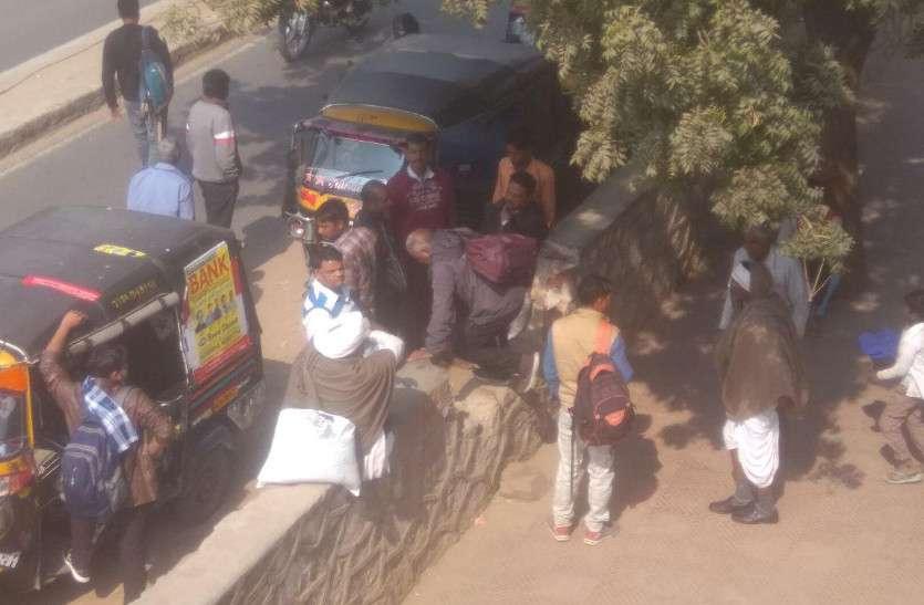दुर्गापुरा रेलवे स्टेशन के लिए नहीं सार्वजनिक परिवहन की सुविधा, सुरक्षा व्यवस्था में भी खामी
