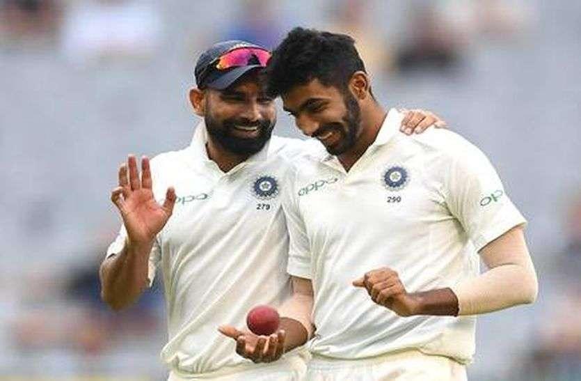 अभ्यास मैच में बुमराह  लौटे फॉर्म में, शमी ने भी की घातक गेंदबाजी, कीवी एकादश 235 पर ध्वस्त