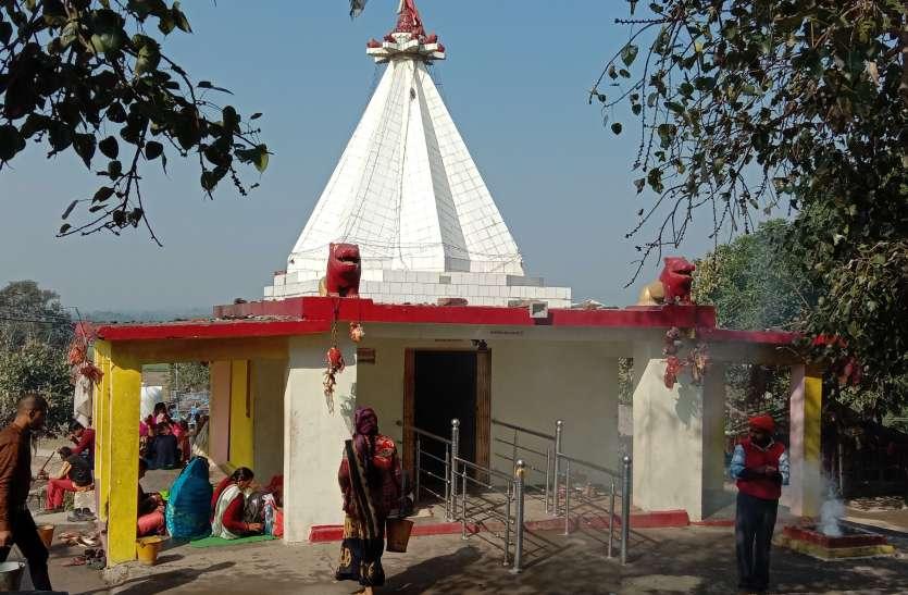 जिले के प्रमुख धार्मिक एवं ऐतिहासिक स्थल घोघरा देवी मंदिर उपेक्षा का शिकार