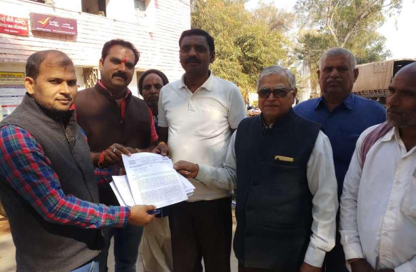 सपाक्स पार्टी सीधी ने प्रधानमंत्री एवं मुख्यमंत्री के नाम सौंपा ज्ञापन