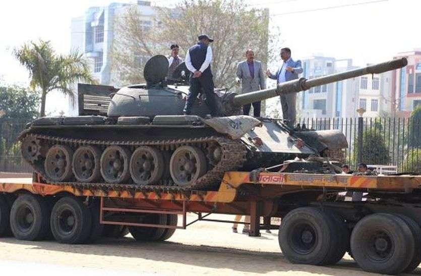 भारतीय सेना का टी-55 टैंक बढ़ाएगा शेखावाटी की शान, 1971 के युद्ध में पाकिस्तान को चुटाई थी धूल