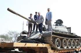1971 भारत-पाक युद्ध में पाकिस्तान को धूल चटाने वाला सेना का T-55 टैंक अब बढ़ाएगा शेखावाटी की शान
