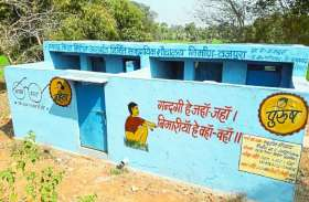 गांव को खुले में शौच मुक्त के लिए बनाए सामुदायिक शौचालय