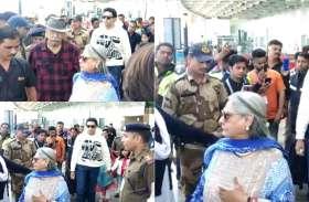 मां से मिलने से पहले जब एयरपोर्ट पर खराब हुआ जया बच्चन का मूड, देखें वीडियो