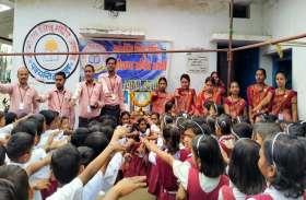 पत्रिका के स्वर्णिम भारत अभियान के तहत ज्ञानोदय के छात्रों ने ली स्वच्छता की शपथ