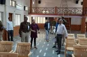 भाजपा हार्सट्रेडिंग के डर से पार्षदों को लेकर पहुंची गोपनीय जगह