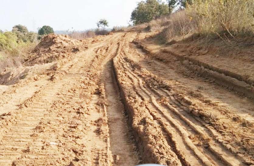खनिज पोर्टल बंद होने के बावजूद पंचायत की खदान से जारी है रेत का अवैध उत्खनन