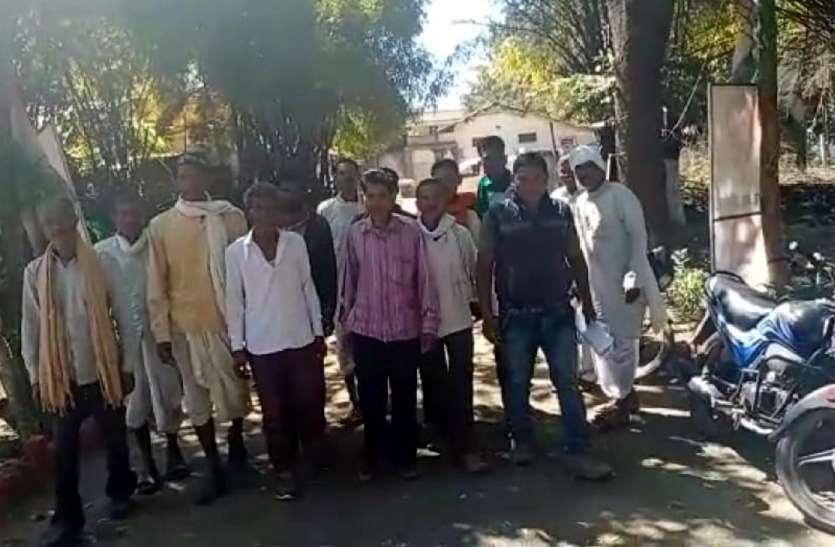 ग्रामीणों ने विधायक से लगाई गुहार