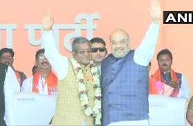 14 साल बाद BJP में शामिल हुए बाबू लाल मरांडी, JVM का भाजपा में विलय