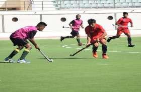 मध्यप्रदेश हॉकी अकादमी ने राजनांदगांव इलेवन को 9-0 गोल से हराया
