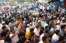 वाशरमैनपेट में सीएए के खिलाफ चौथे दिन भी जारी रहा प्रदर्शन