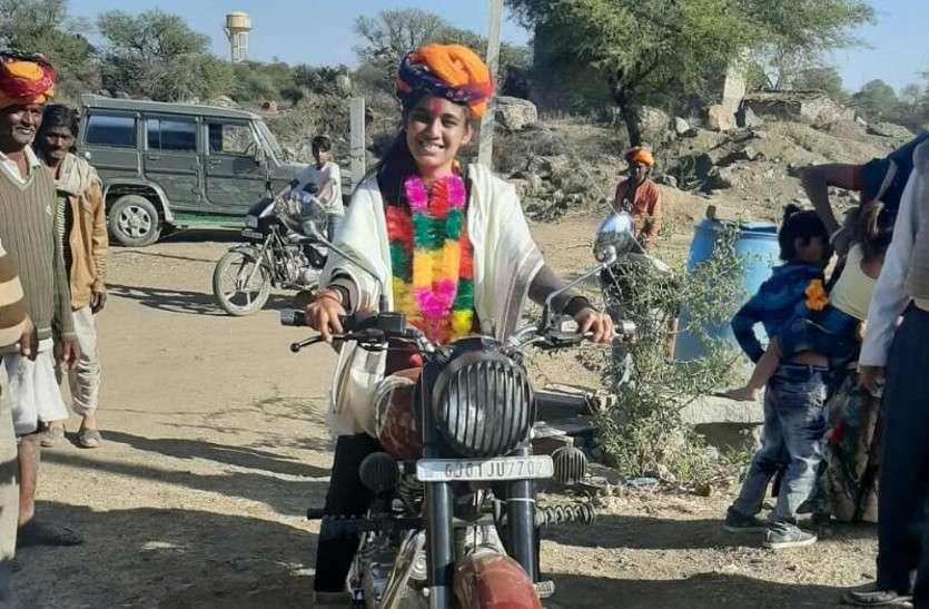 महज 23 साल की उम्र में राजस्थान की ज्ञानगढ़ ग्राम पंचायत की सरपंच बनी वर्षा