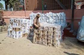 बलिया में 18 लाख रुपये की शराब के साथ दो तस्कर गिरफ्तार