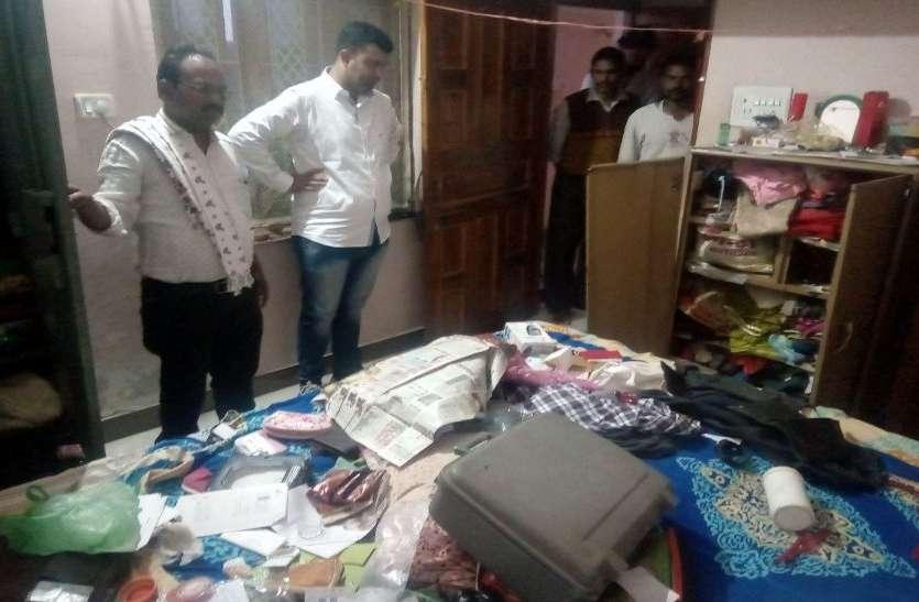 VIDEO : सूने मकान से चोरों ने किया लाखों का माल पार, जांच में जुटी पुलिस