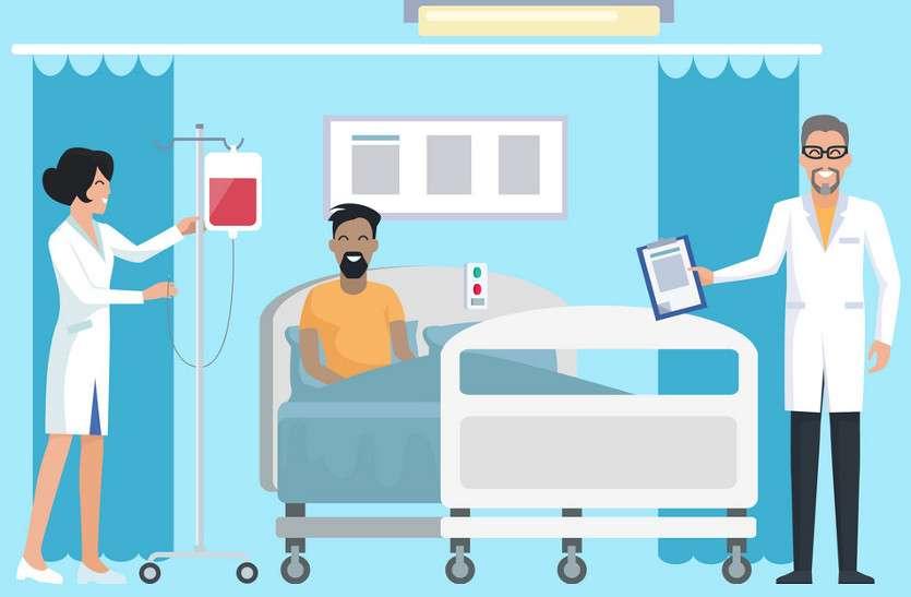 30 बिस्तर अस्पताल में रात को गायब रहते हैं स्टॉफ, दुर्घटना होने पर नहीं मिलता इलाज ...